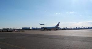羽田空港滑走路 見学