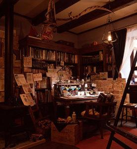 三鷹ジブリの森美術館 常設展示室